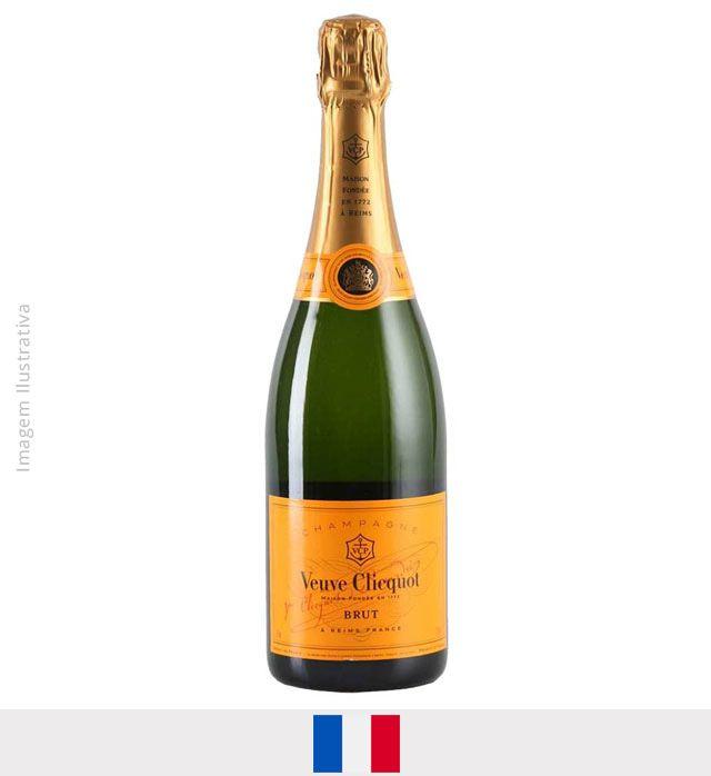 Champagne Veuve Clicquot Brut 750ml - Champagne Veuve Clicquot Brut