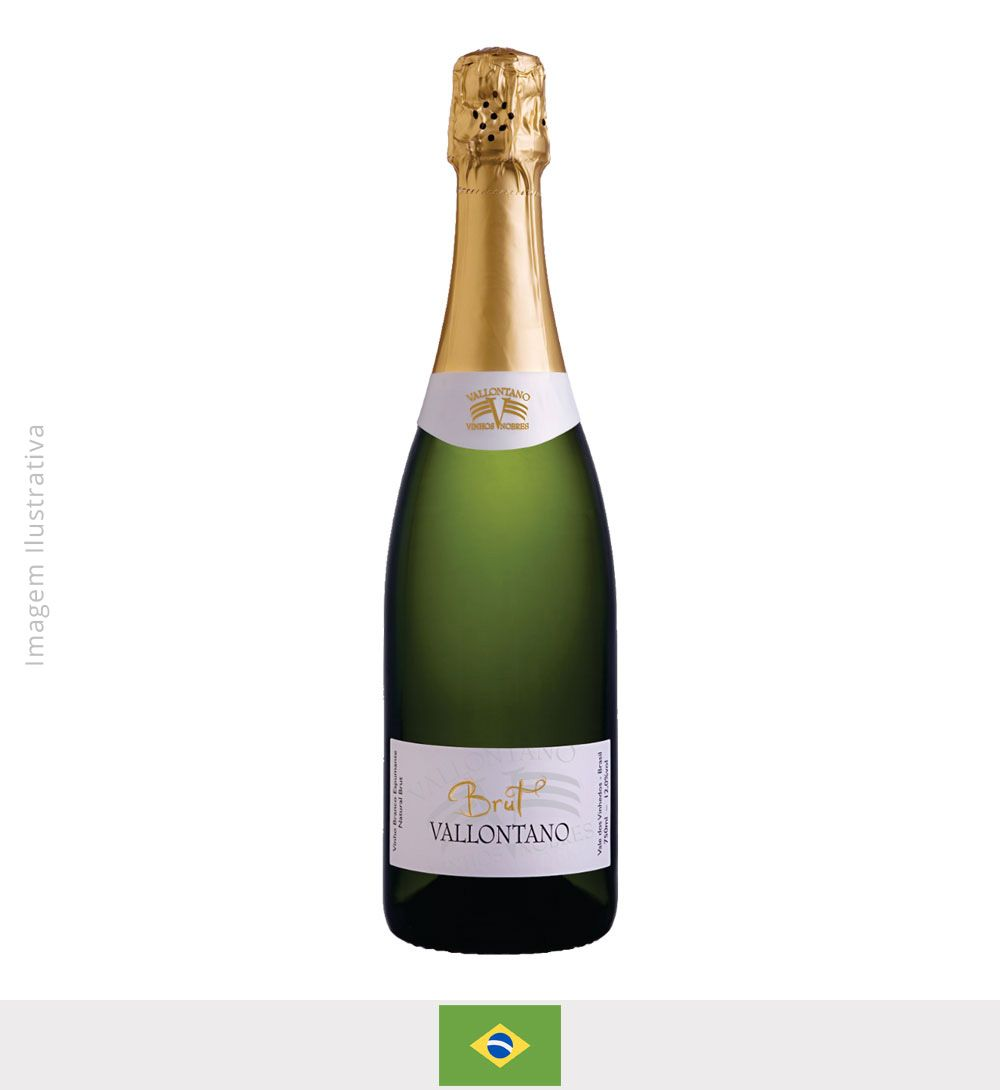 Espumante Vallontano Brut 750ml