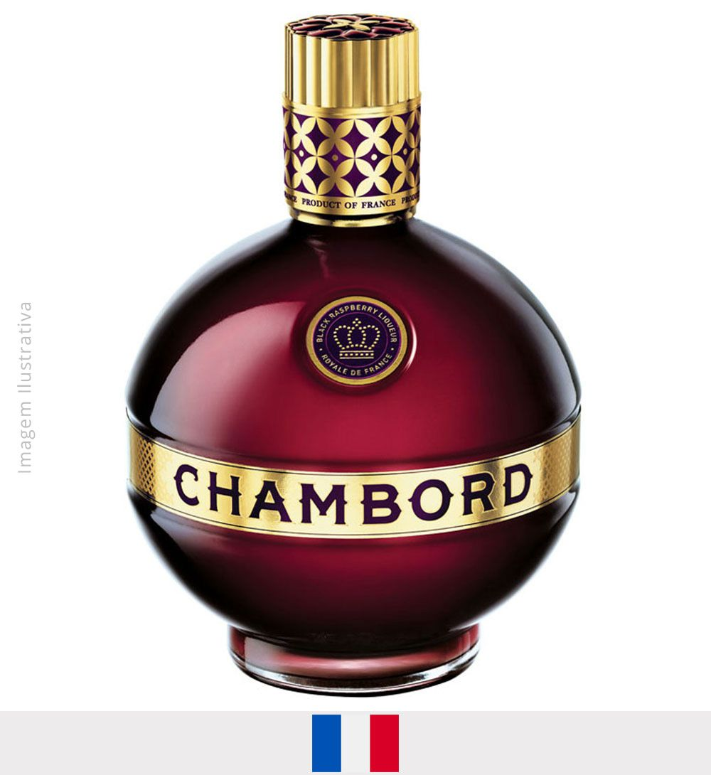 Licor Chambord 750ml - Licor Chambord