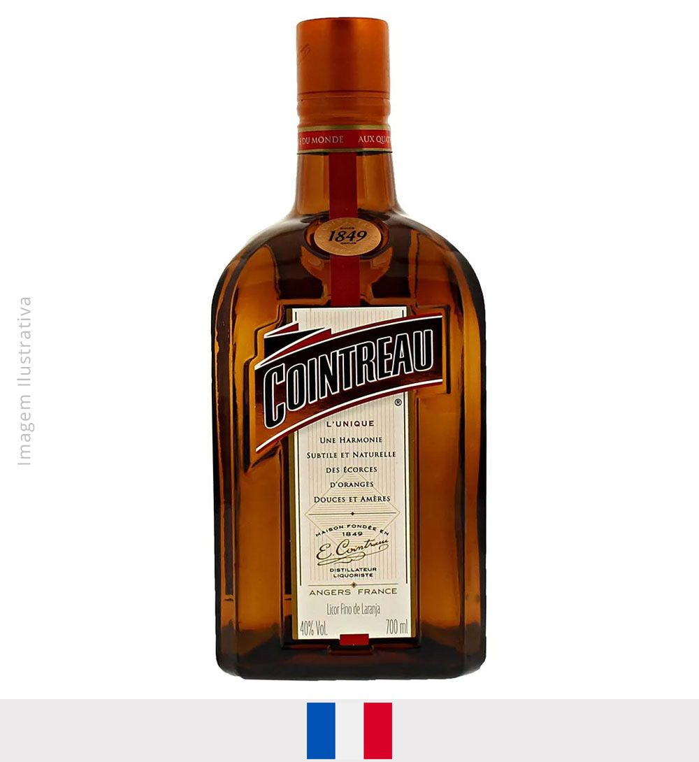 Licor Cointreau 700ml - Licor Cointreau