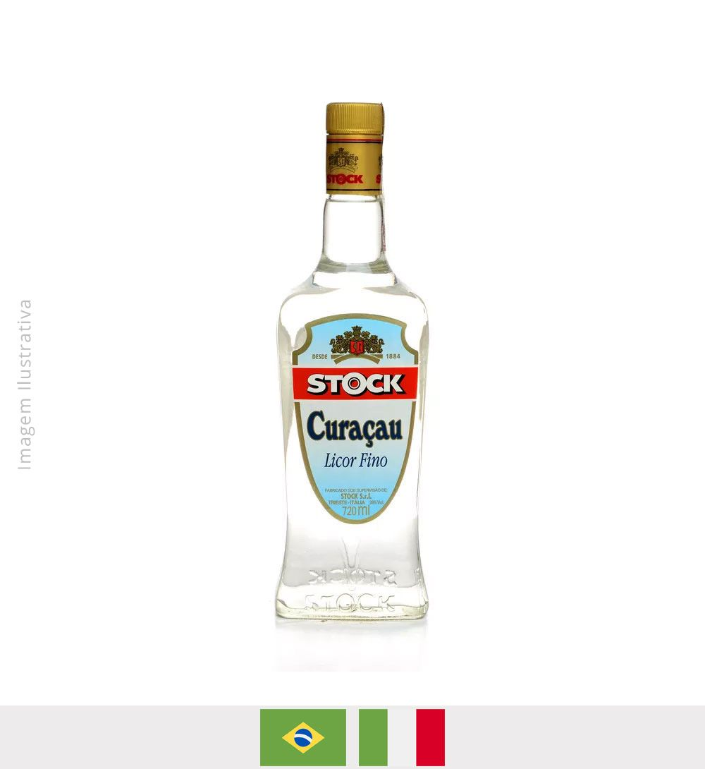 Licor Fino Stock Curaçau 720ml