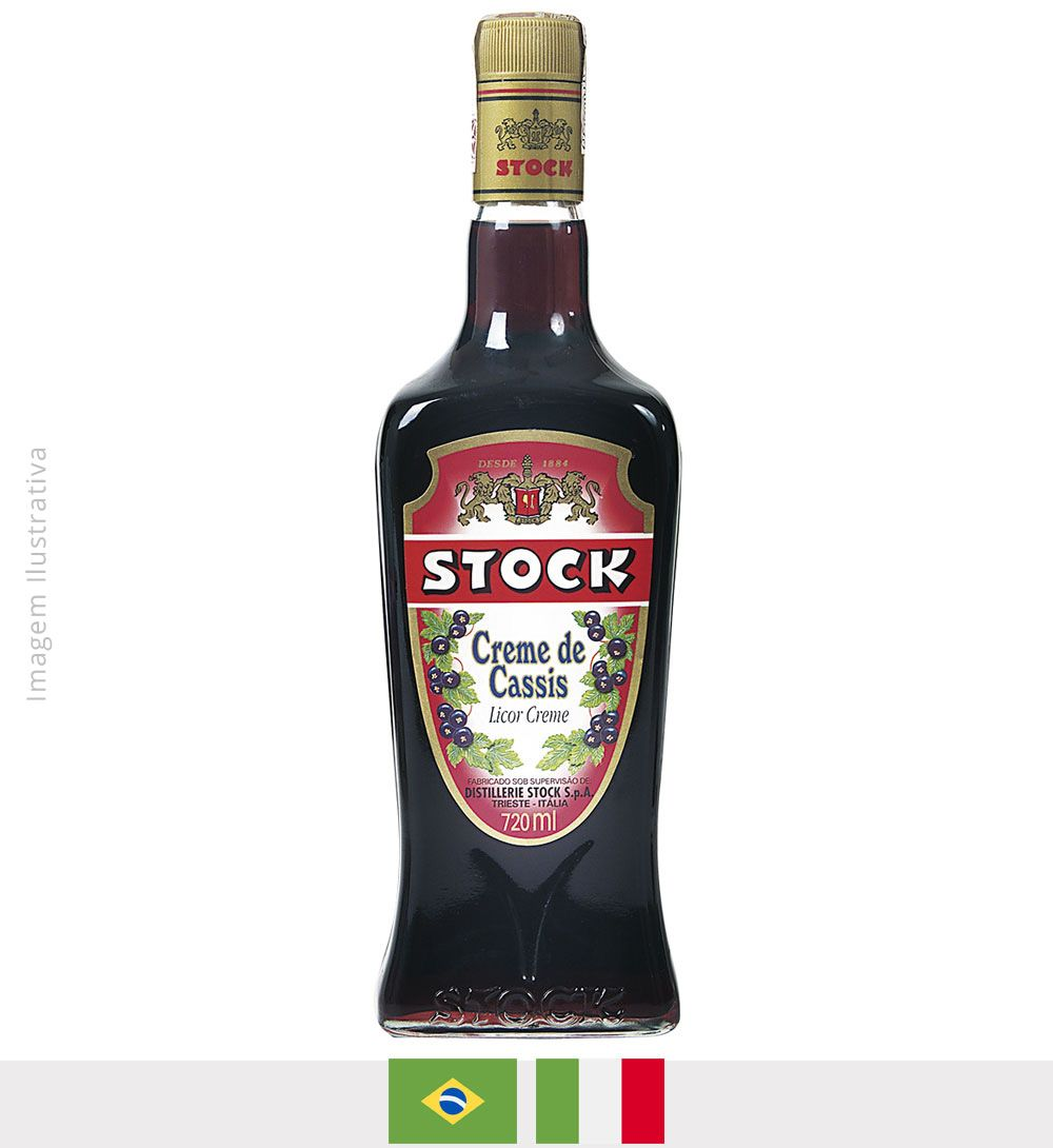 Licor Stock Creme de Cassis 720ml - licor stock creme de cassis