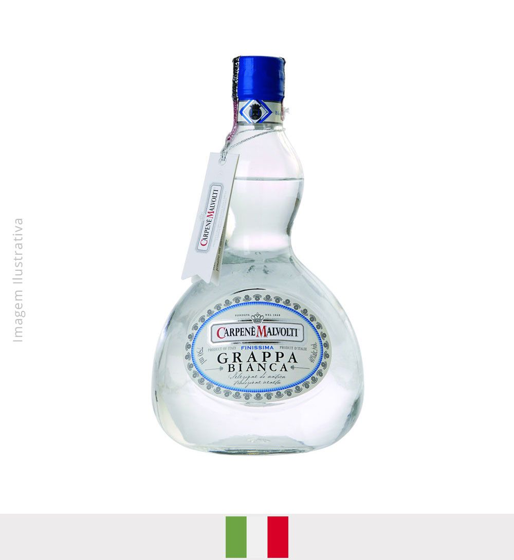 Carpené Malvolti Grappa Bianca 750ml - Carpené Malvolti Grappa Bianca