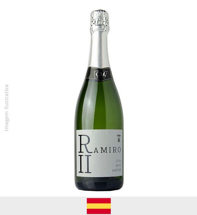 Espumante Cava Ramiro II Brut 750ml