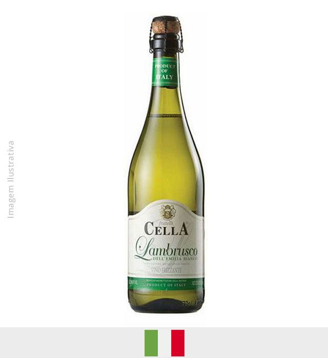 Frisante Lambrusco Cella Branco 750ml
