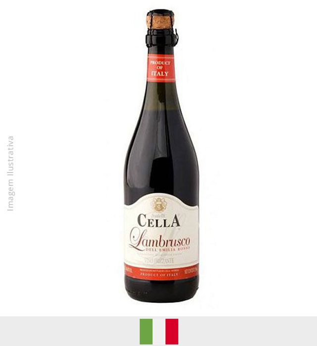 Frisante Lambrusco Cella Tinto 750ml