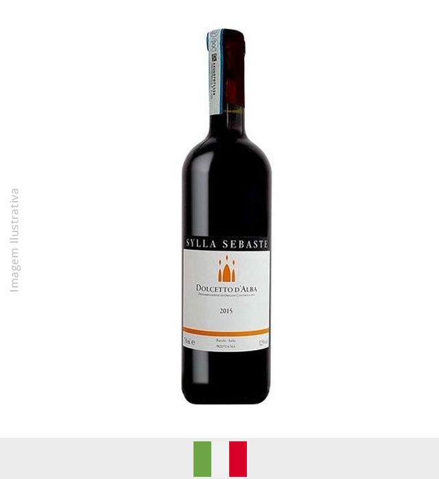 Vinho Sylla Sebaste Dolcetetto D Alba DOCG 750ml