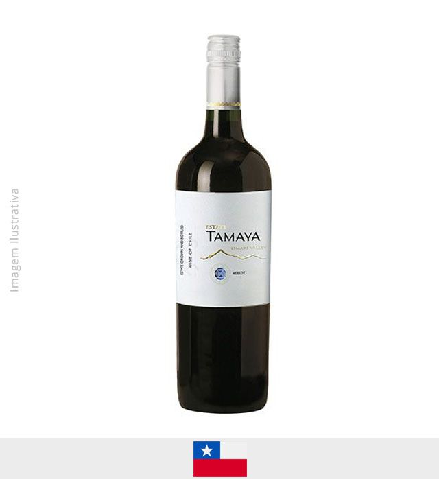 Vinho Tamaya Estate Carmenere 750ml - Vinho Tamaya Estate Carmenere