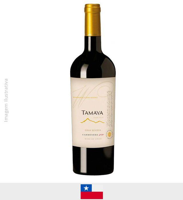 Vinho Tamaya Gran Reserva Winimaker Selection Carmenere