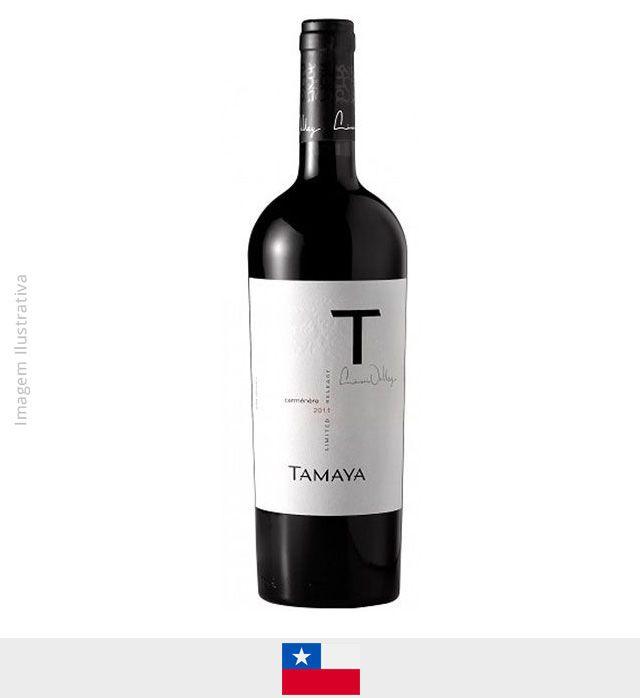Vinho Tamaya Limited Release Carmenere