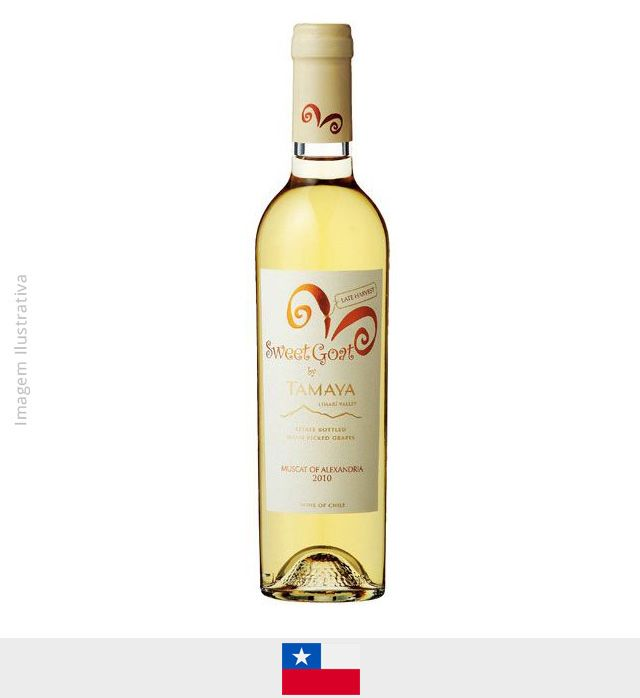 Vinho Tamaya Sweet Goat Late Harvest 375ml