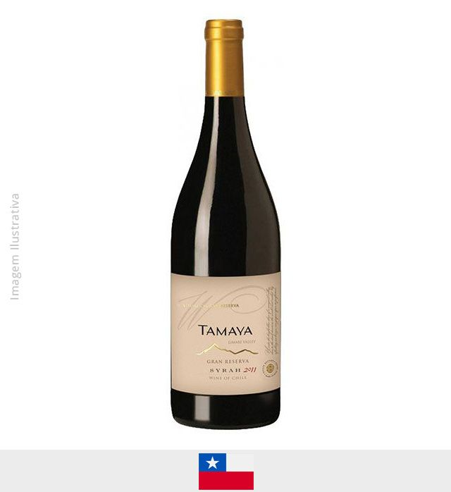 Vinho Tamaya Winemaker Selection Syrah - Vinho Tamaya Winemaker Selection Syrah
