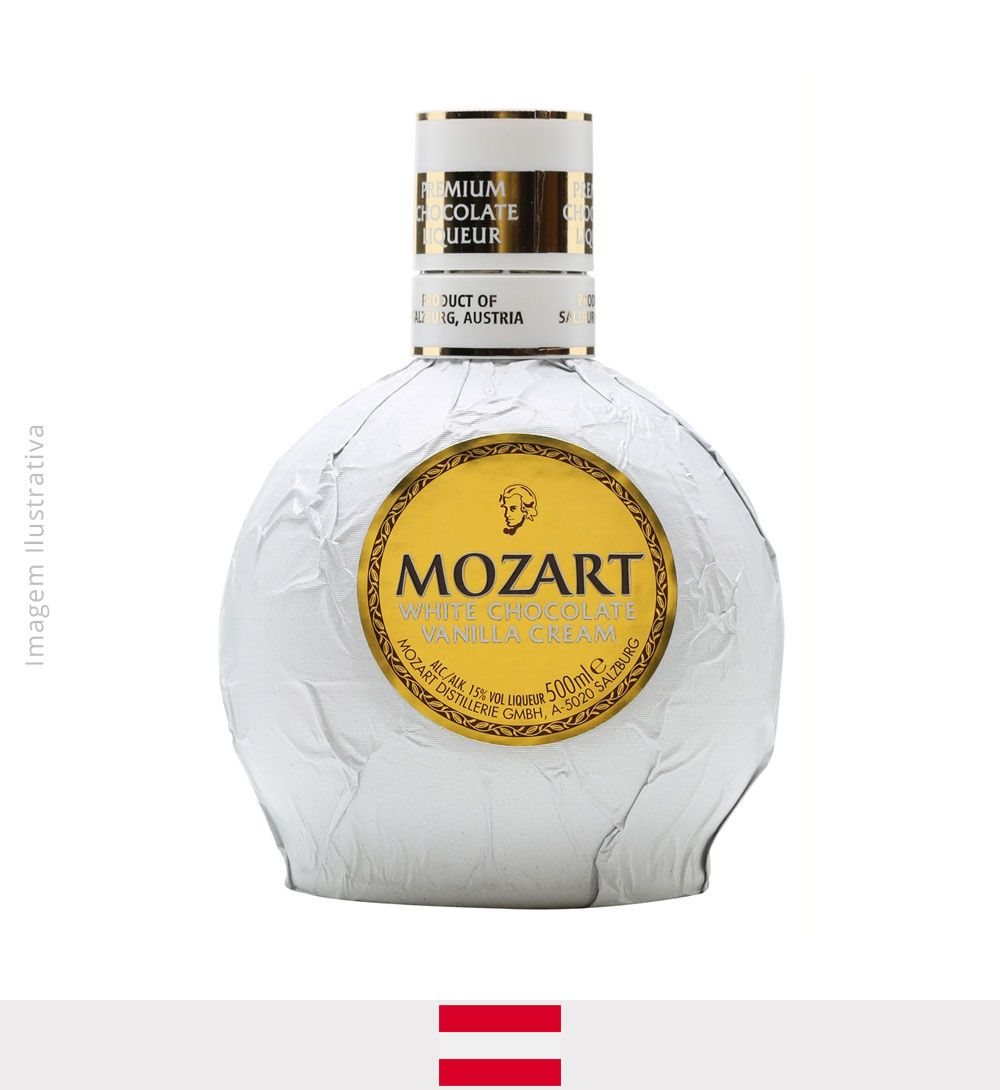 Licor Mozart White Chocolate Vanilla Cream 500ml
