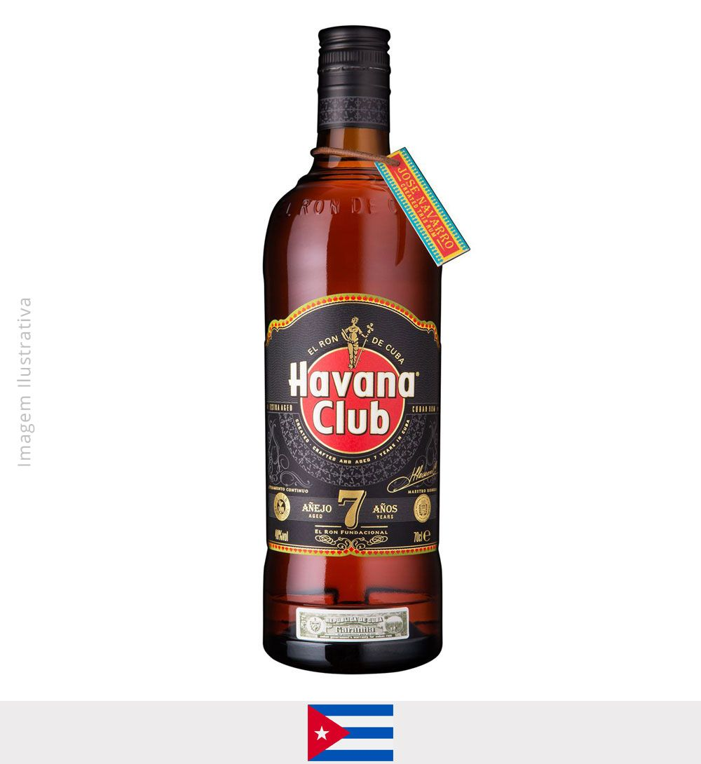 Rum Havana Club Anejo Blanco 7 anos 750ml