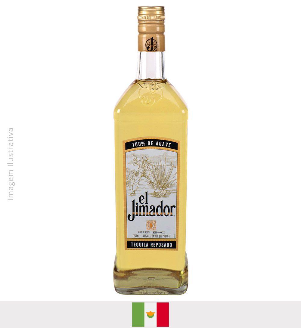 Tequila El Jimador Reposado (ouro) 750ml