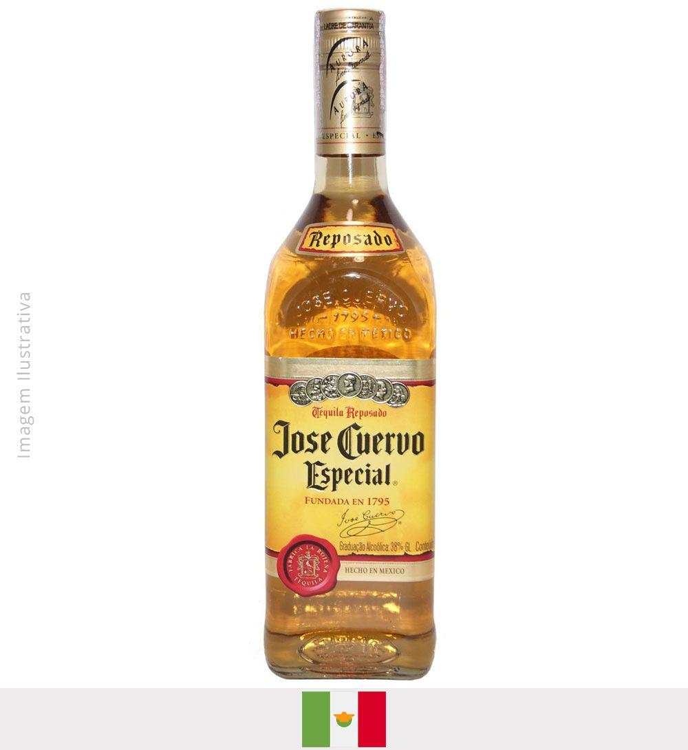 Tequila Jose Cuervo Reposado (ouro) 750ml - Tequila Jose Cuervo Reposado (ouro)