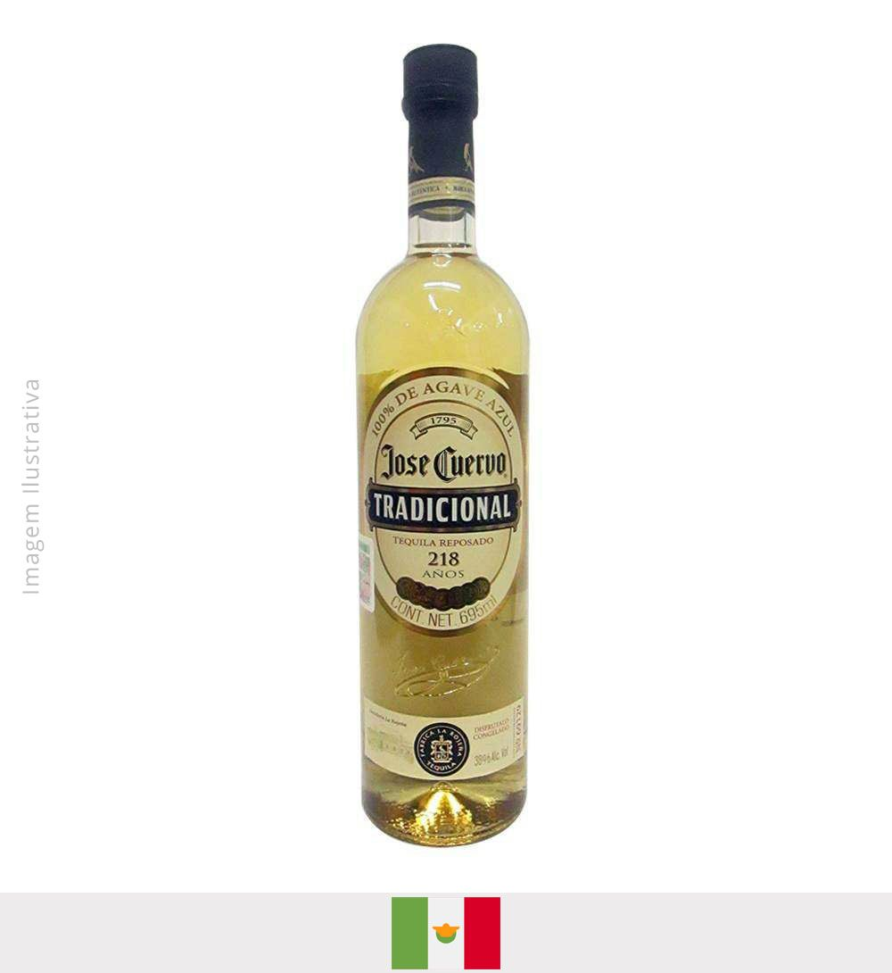 Tequila Jose Cuervo Tradicional 100% Agave 695ml