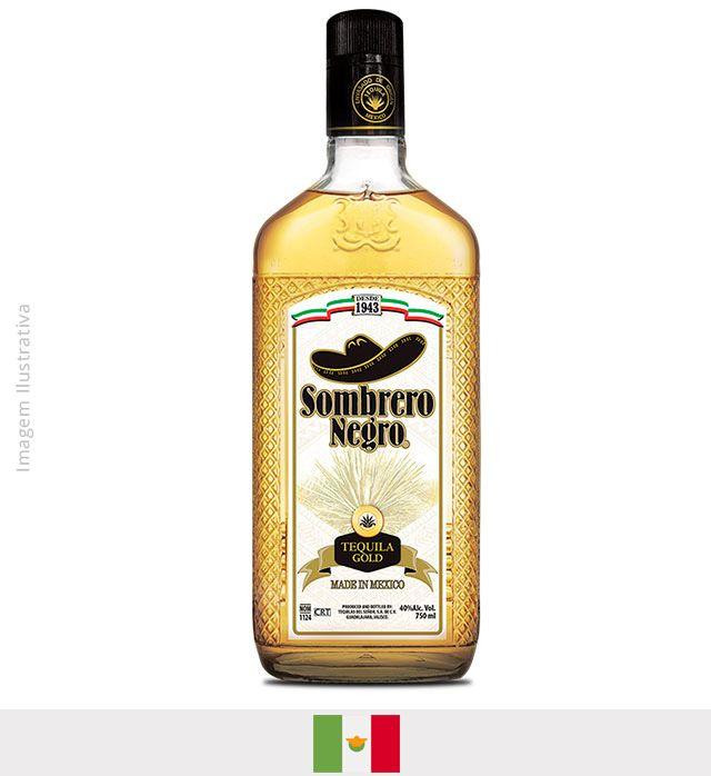 Tequila Sombrero Negro Ouro 750ml