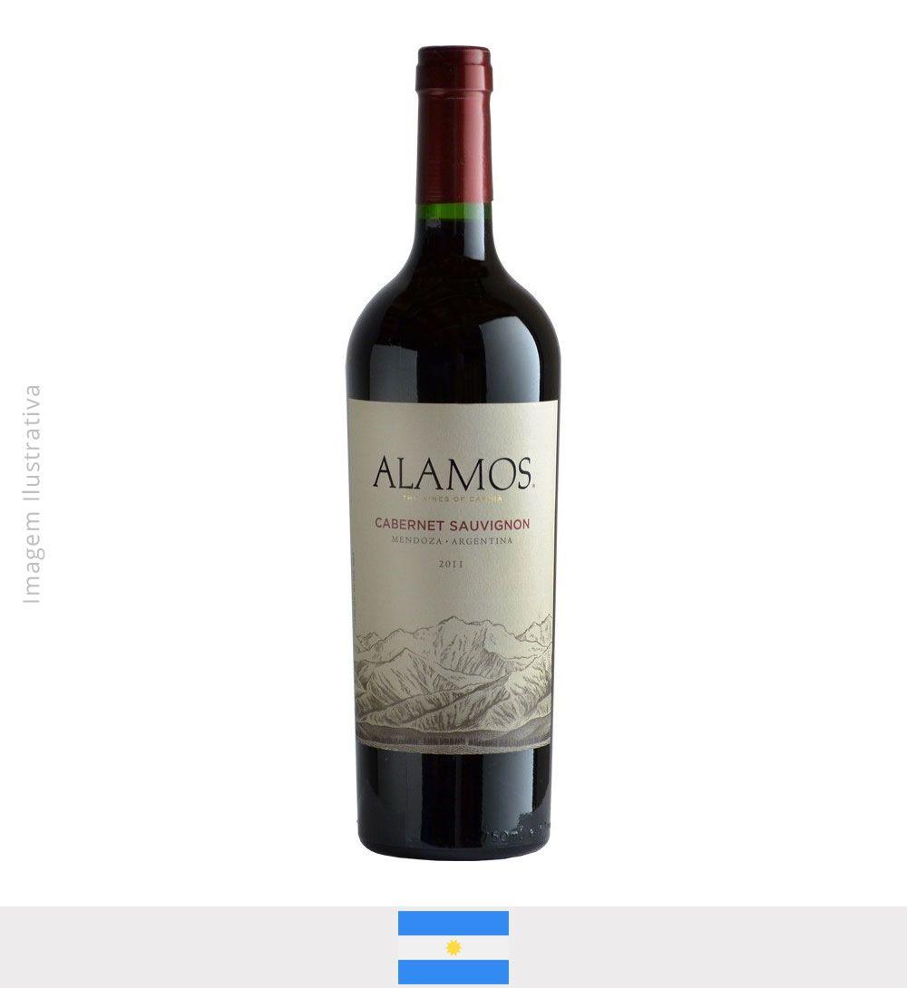 Vinho Alamos Cabernet Sauvignon  750ml - Vinho Alamos Cabernet Sauvgnon