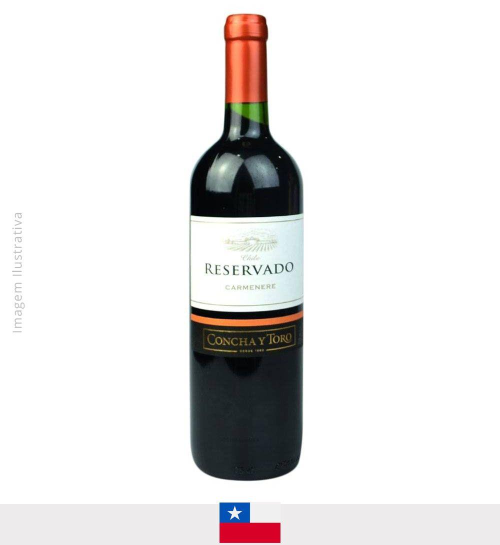 Vinho Concha Y Toro Reservado Carmenere750ml