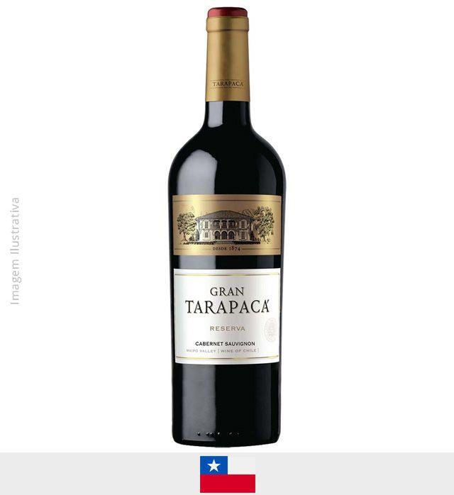 Vinho Gran Tarapaca Cabernet Sauvignon 750ml