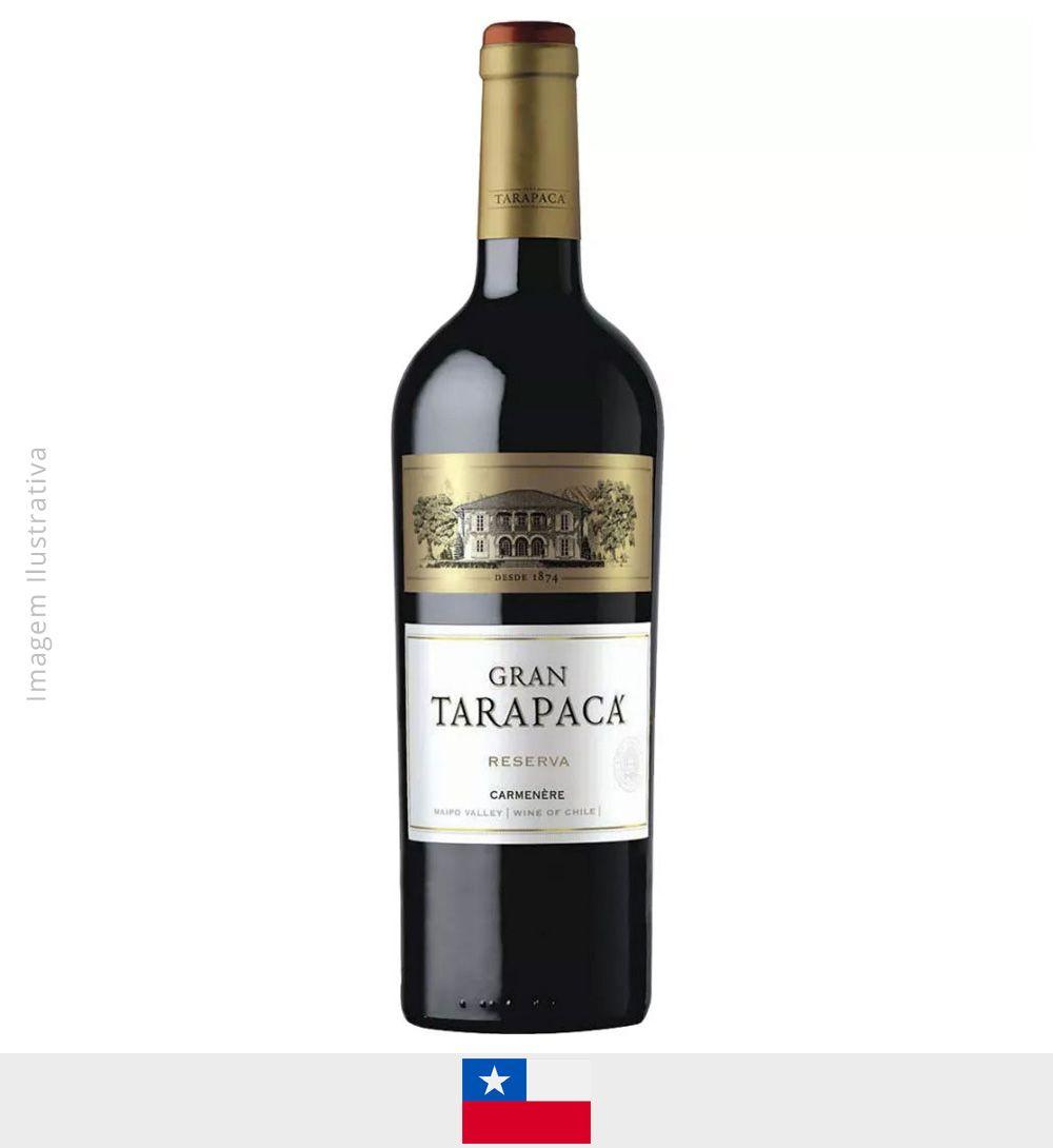 Vinho Gran Tarapaca Carmenere 750ml