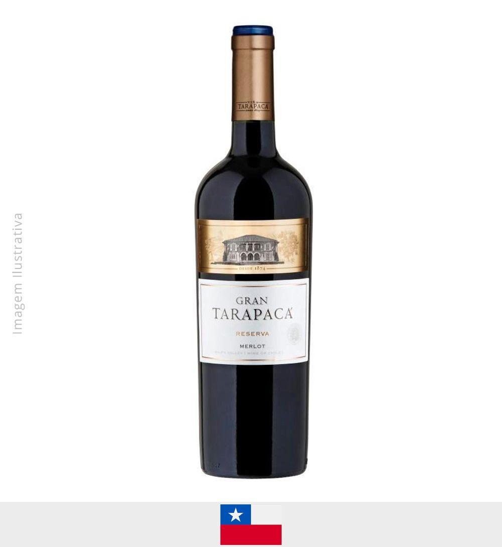 Vinho Gran Tarapaca Merlot 750ml