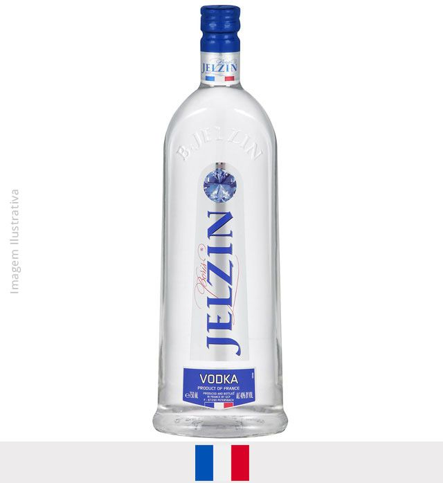 Vodka Boris Jelzin 1L