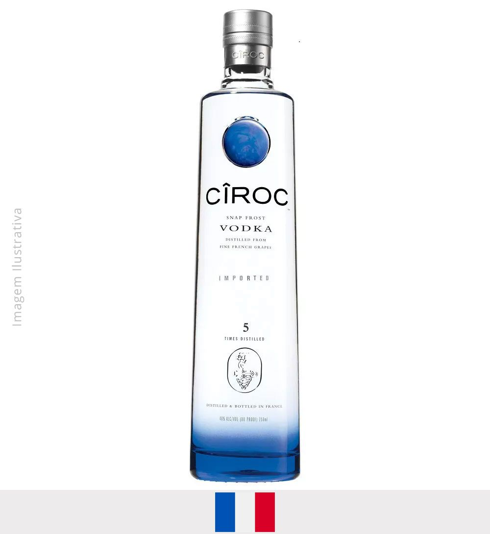 Vodka Cirôc 750ml - Vodka Cirôc