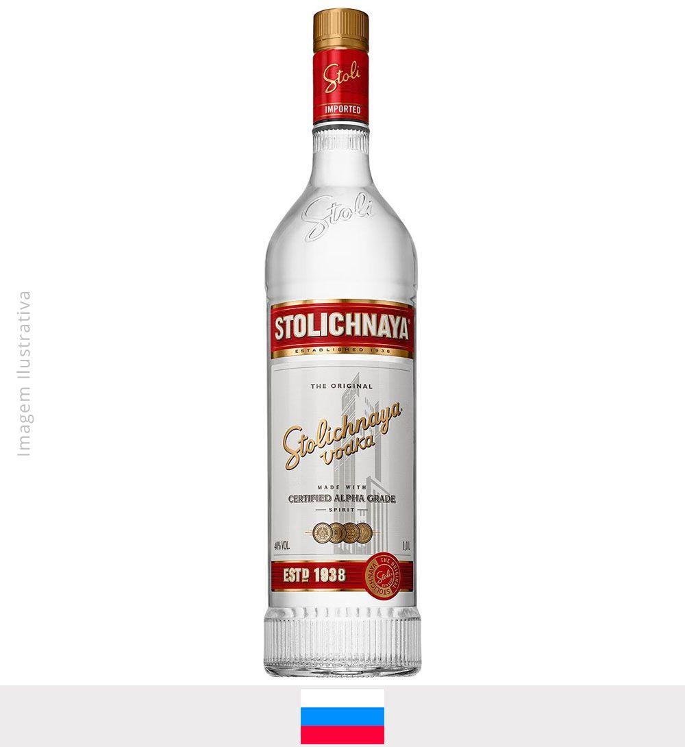 Vodka Stolichnaya