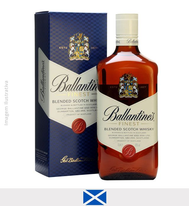Whisky Ballantine's Finest 1L - Whisky Ballantine's
