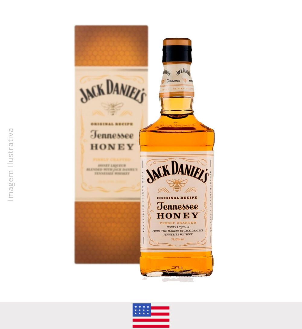 Whisky Jack Daniel's Honey 1L - Whisky Jack Daniel's Honey