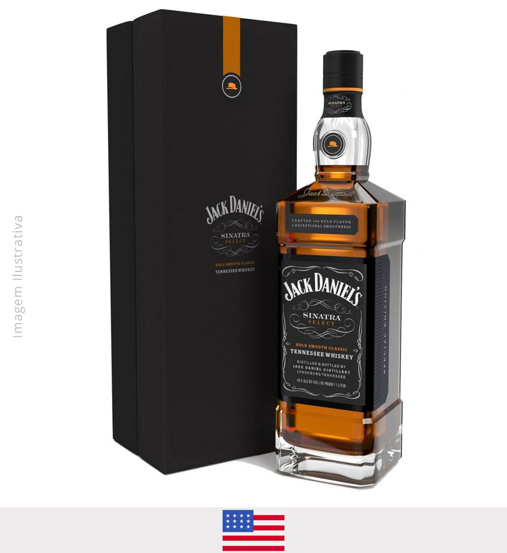 Whisky Jack Daniel's Sinatra 1L