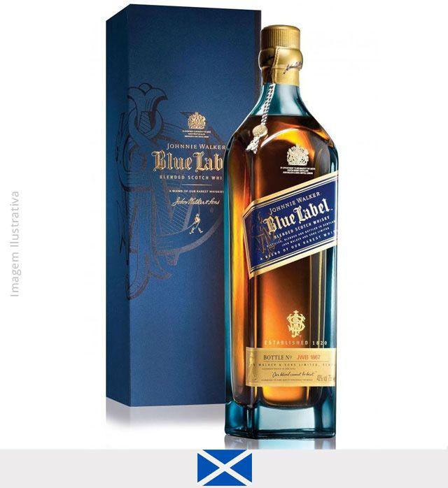 Whisky Johnnie Walker Blue Label 750 ml - Whisky Johnnie Walker Blue Label