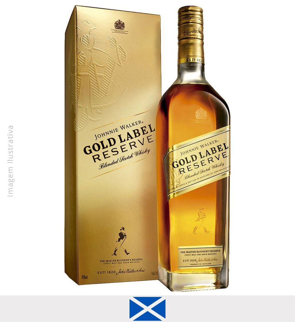 Whisky Johnnie Walker Gold Label Reserve 750 ml  - Whisky Johnnie Walker Gold Label Reserve