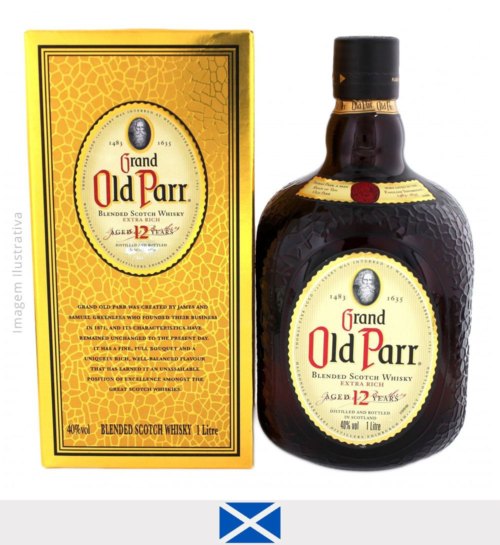 Whisky Old Parr 12 Years Old 1L