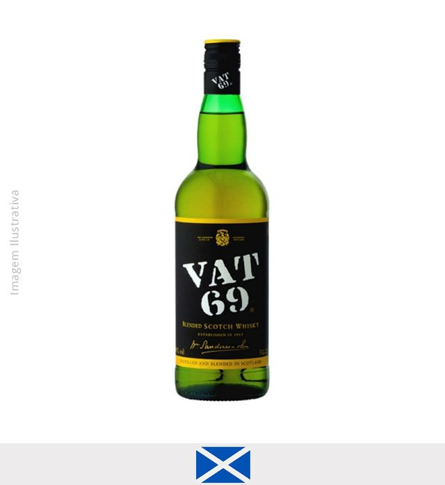 Whisky Vat 69 1L - Whisky Vat 69