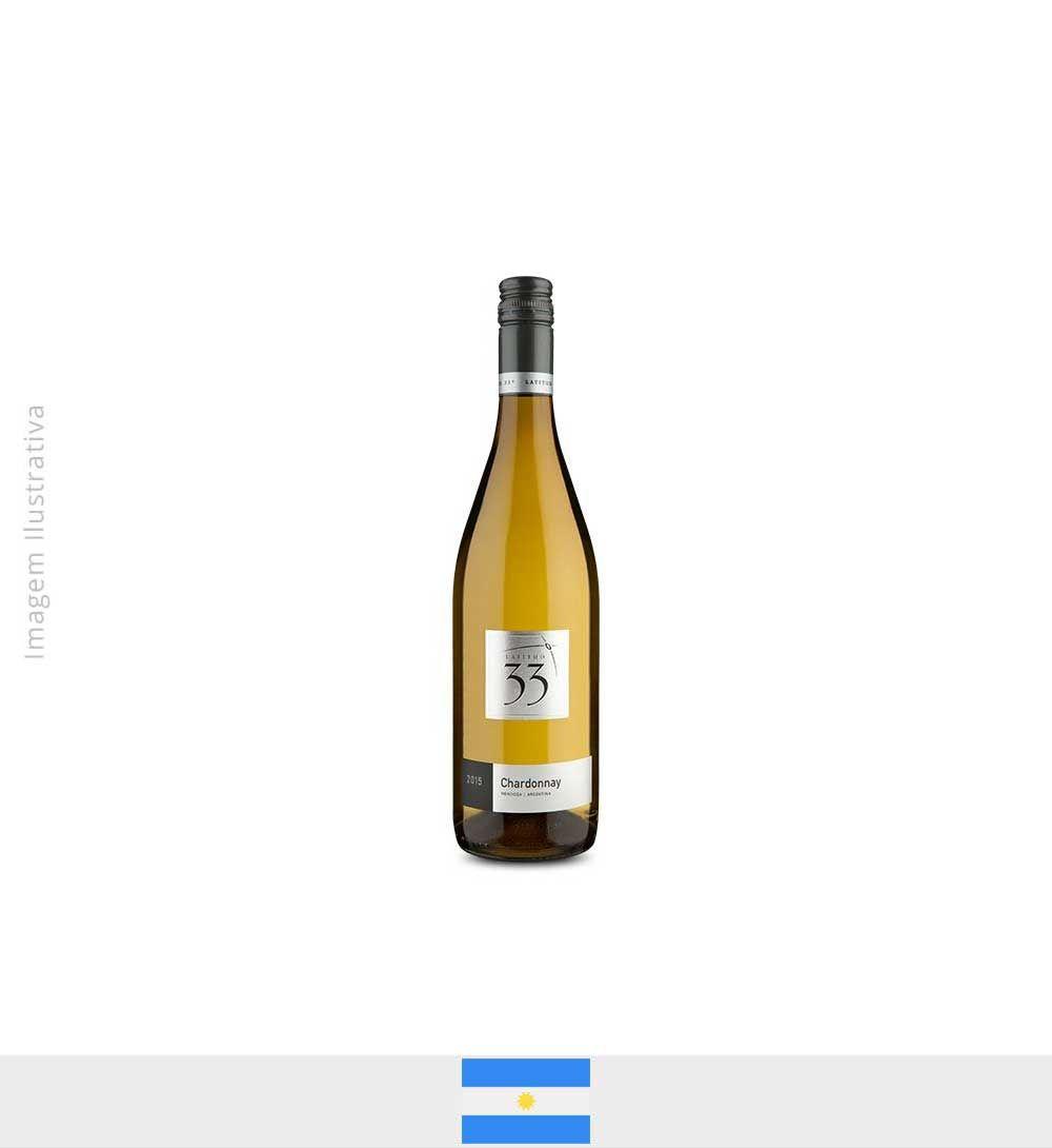 Vinho Latitud 33° Chardonnay 2015