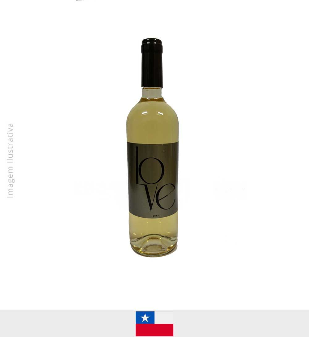 Love White Chardonay Sauvignon Blanc Central Valley 750ml