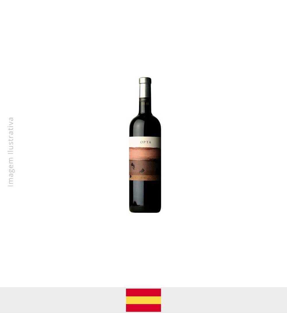 Vinho Opta 70% Tempranillo, 20% Garnach, 10% Syrah