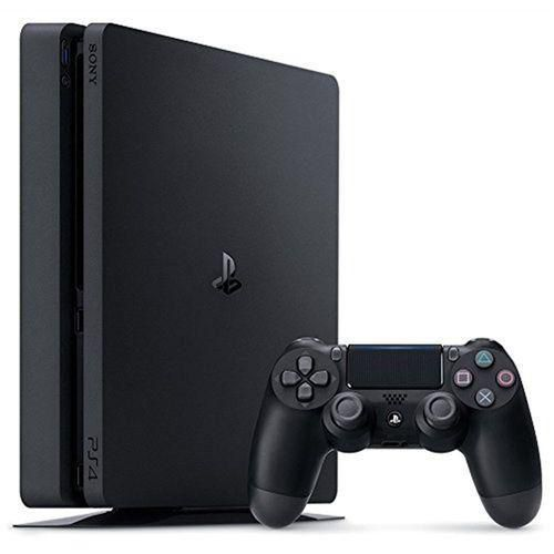 Playstation 4 Slim 1tb Preto + Controle Sem Fio