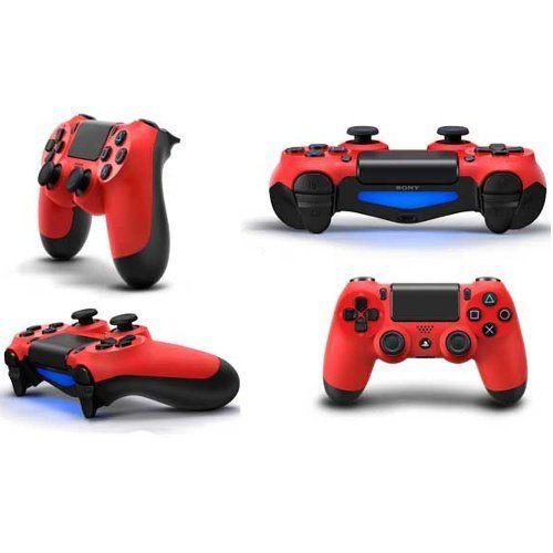 Controle Sem Fio - Dualshock 4 Vermelho - PS4