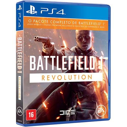 Battlefield 1 Revolution - PS4 Seminovo