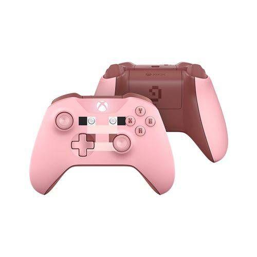 Controle Sem Fio - Xbox One Minecraft Pig