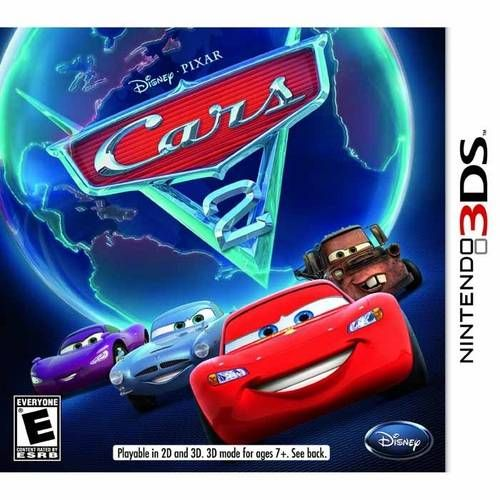 Cars (Carros) 2 - 3DS Semi-Novo