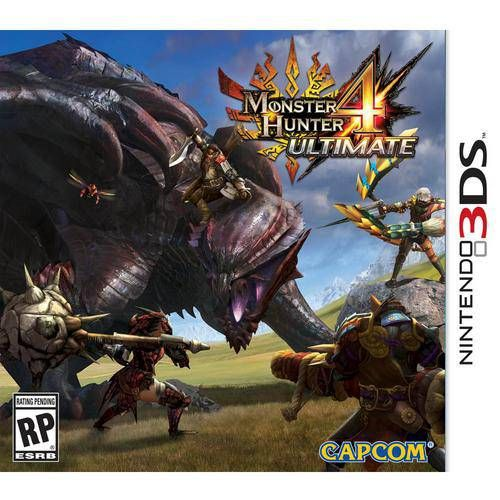 Monster Hunter 4 Ultimate - 3DS Semi-Novo