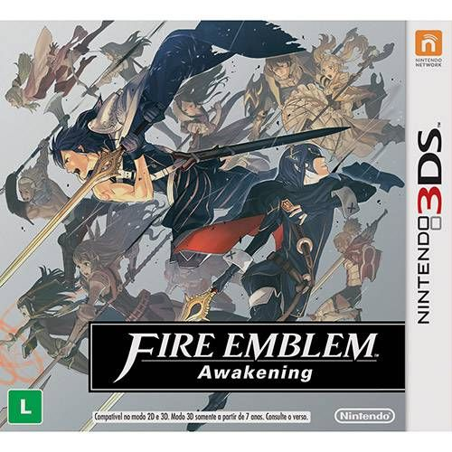 Fire Emblem: Awakening - 3DS Semi-Novo