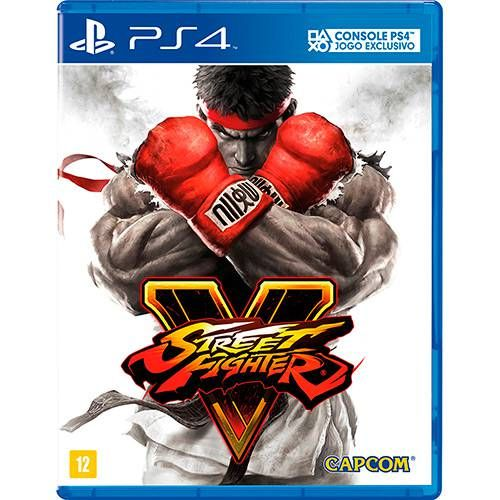 Street Fighter V - PS4 Semi-Novo