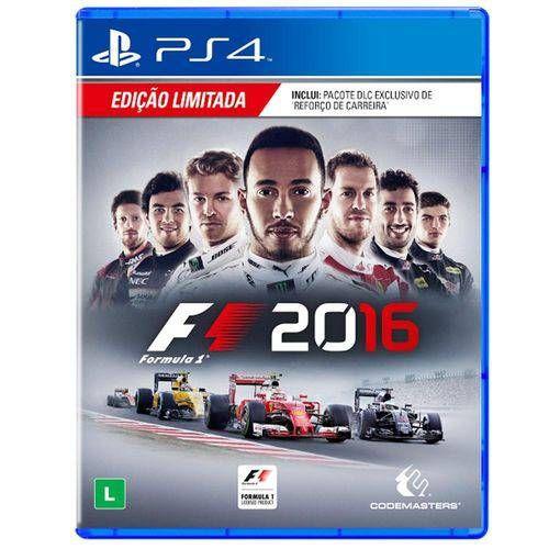F1 2016 - PS4 Semi-Novo
