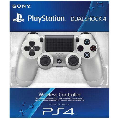 Controle Sem Fio - Dualshock 4 Silver - PS4